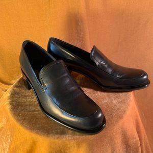 Franco Sarto Navy Blue Loafers